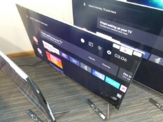 TCL 50'' 4K TV Model: 50C715K, includes remote (R44) and box (B60)