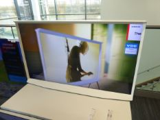 Samsung Serif 55'' 4K TV Model: QE55LSO1TAU, includes remote (R35 & R36) Screen has finger print