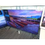Samsung 75'' 4K TV Model: UE75TU8000K, includes remote (R27 & R28) and box (B15) Screen has no
