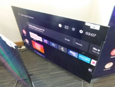 TCL 55'' 4K TV Model: 55C715K, includes box (B42) Screen has no visible damage, sound is working,