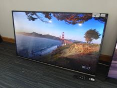 TCL 50'' 4K TV Model: 50EP658, includes remote (R12) Ref: 127389 No stand