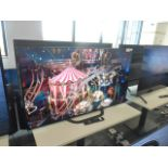 Sony 4K OLED TV Model: KD-55AG8, includes remote (R32), scratch to the upper left hand side of