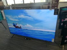 Sony 75'' 4K TV Model: KD-75XH9005, includes remote (R8) Screen has no visible damage, sound is