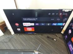 TCL 50'' 4K TV Model: 50EP658, includes remote (R10) and box (B35) Ref: 127389
