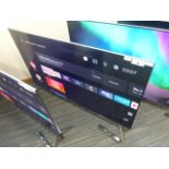 TCL 55'' 4K TV Model: 55C715K, includes remote (R34) and box (B55) Scratch on screen Screen has