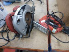 Black and Decker circular saw and Black and Decker jigsaw
