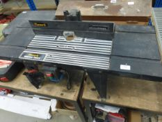 Power G router table