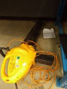 Landcare yellow electric leaf blower