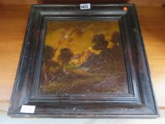 Picture of woodland in oak frame