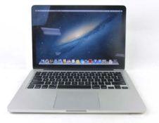 MacBook Pro 13'' 2012 128GB SSD, 8GB RAM, OSX 10.8.5 laptop with PSU (Model A1425)