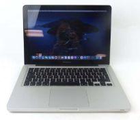 MacBook Pro 13.3'' Intel i5 @ 2.5GHz, 500GB HDD, 4GB RAM, OS Catalina laptop with PSU (Model A1278)