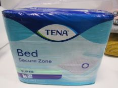 26 Pack of Tena Bed Secure Zone Super bed pads