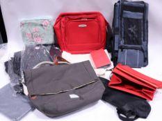 Various bags inc. OSAKA rucksack and Joules satchel