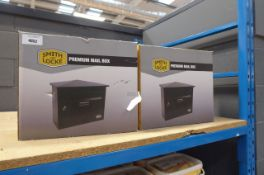 4081 2 Smith & Lock premium mailboxes