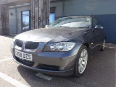 GY58 UZS (2008) BMW 3181 SE Touring, 1995cc diesel in grey MOT: 7/12/21 Notes: heated seats, air
