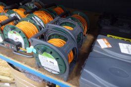 3 orange extension cables