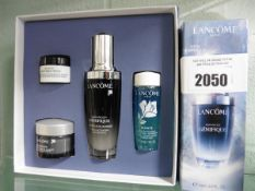 Lancome set of cosmetics to include creams, cleansers etc.