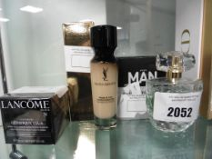 Lancome, YSL, Avon cosmetics to include perfume and foundation