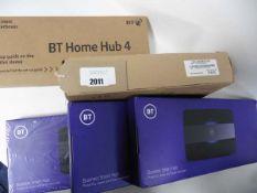 3 BT smart Hub, 1 Smart Hub 2 & 1 Smart hub 4,