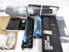 1st Player Gaming Combo KM1 keyboard, mouse & mat, Hama wireless keyboard & Mouse, Compoint & Valu