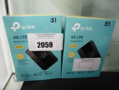 Two TP LInk 4G LTE mobile WiFi units