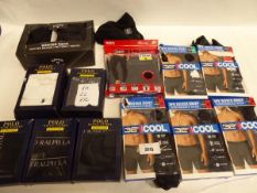 Mens 32 degree cool boxers, 4 pairs of mens Polo Ralph Lauren classic boxers, Polo Ralph Lauren t-