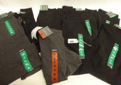 10 Ladies Kirkland leggings, sizes ranging from M to XL