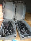 2 waterproof switchboxes