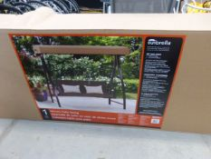 Large boxed flatpack patio swing