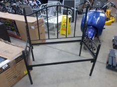 Metal garden bench frame (no inners)