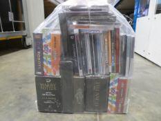 Bag containing quantity of music CD albums