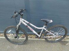 Apollo silver girls bike
