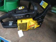 MacCulloch petrol powered chainsaw (no bar, no chain)