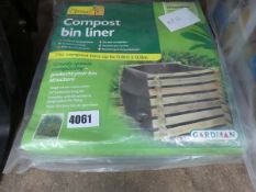2 compost bin liners