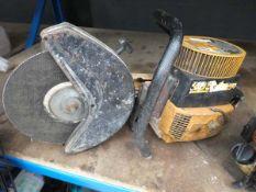 Partner petrol powered disc cutter