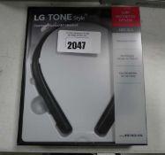 LG Tone Style neckband bluetooth headset