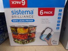 Sistema food storage container set