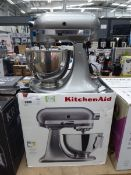Kitchen Aid standing mixer with bowl, no attachments Light use