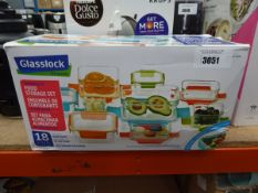 Glasslock premium food storage set