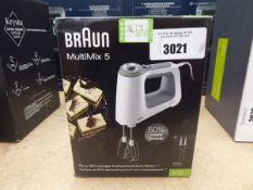 Braun multi-mix five hand blender with box