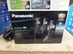 Panosonic KX TG2723 Digital cordless phone and answering machine