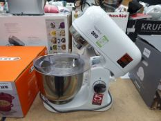 Kenwood Kmix standing mixer with three attachments Light use