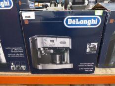 Delonghi double drip espresso coffee machine