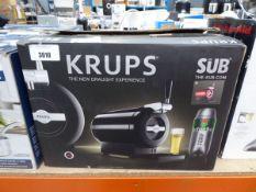 Krups draught beer dispenser Light use, no drip tray