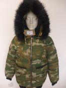Supply & Demand harrison camo jacket size M