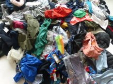 Half a stillage containing mixed children's clothing ages 3+ (approximately 160 items)