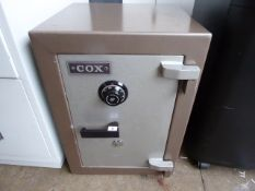 49cm Cox key lock and code safe