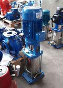Lowara 10SV07T030T/D vertical multi-stage pump, 3kw