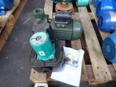 Wilo Top-SD30/5 pump (1ph) with a DAB K12/200M pump 2''