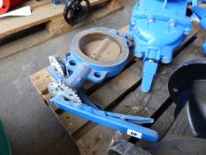 Two Hattersley 6'' specialist butterfly valves
